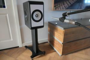 room correctie coax monitor